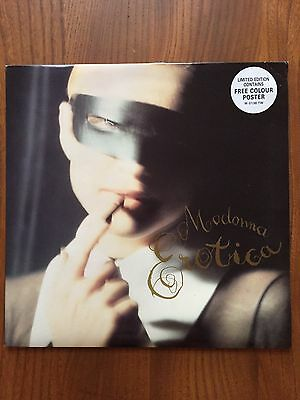 "Madonna - Erotica 12"" Limited Edition With Poster!"