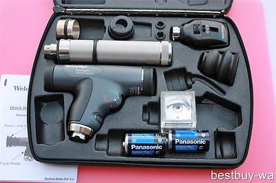 Welch Allyn Diagnostic Set 11820 Panoptic 11735 Ophthalmoscope Plug-In Handle