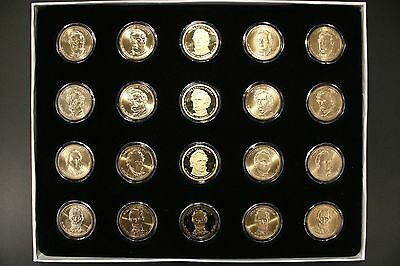 2010 Presidential Dollar 20 Coin Set BU Uncirculated P+D, S Proof and Satin P+D