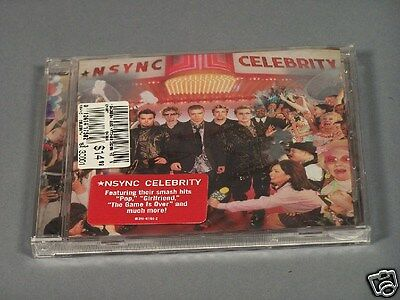 "NSYNC ""Celebrity"" CD in Original Shrink Wrap with Pricing, Very Collectible"