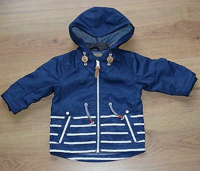 Next nautical style showerproof coat age 6-9 months  fast dispatch