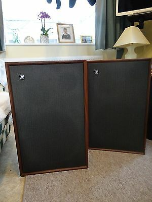 Two Genuine Vintage Goodmans Magnum K-2 Speakers