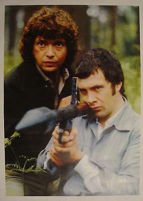 The Professionals A3 Framed Poster  - 80s TV Series