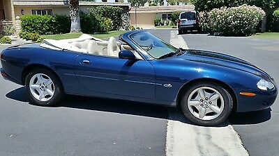 1998 Jaguar XK8 WHITE LEATHER 1998 Jaguar XK8 Convertible