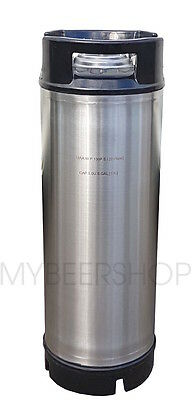 19L Premium Ball Lock Keg Stainless Steel Home Brew Beer S/s 5 Gal Litre Corny