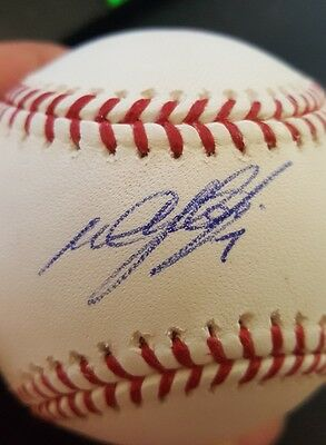 Melvin Upton Jr. Autographed Baseball - MLB Authenticated Hologram
