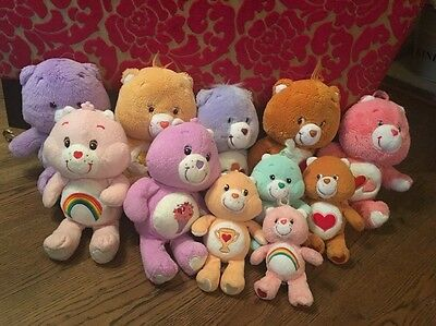 Care Bears Bundle X 11 From 2002onwards -great Selection