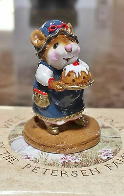"Wee Forest Folk M-250 ""Pudding Anyone?"" SPECIAL EDITION CRYSTALLIA 2001 Mint"