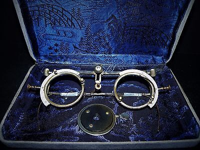 Antique/Vintage1896 The America Optical Company Ophthalmology-STEAMPUNK-MONOCLE