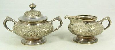 Fine Antique Estate C.1900 Tiffany & Co. Silver Sugar & Creamer Set !
