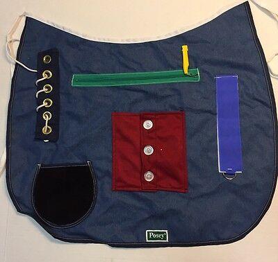 Posey Activity Apron Manual Dexterity Cognitive Therapy DayCare Mobility Rehab
