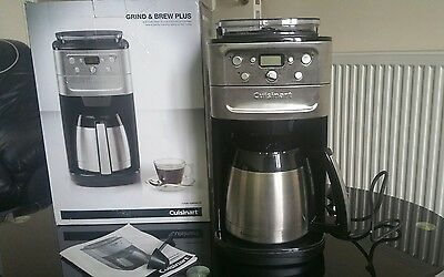 grind and brew plus coffee machine beans to cup
