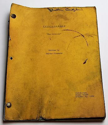 Gunsmoke * 1968 Original TV Show Script * SEASON 14, EPISODE 25 * The Prisoner