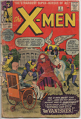 The X-Men #2 (1963) Comic Book