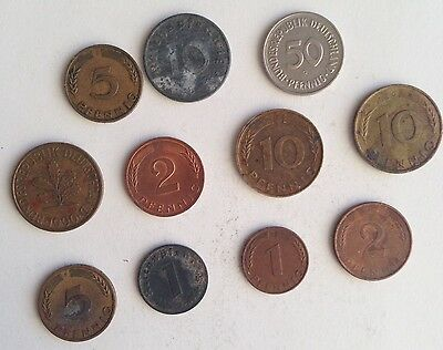 Rare Old Coins Collection Lot: Germany - Rare Collectable Coins!!!