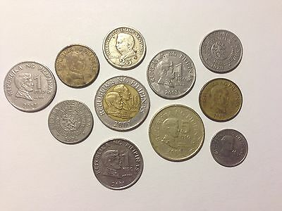 Rare Old Coins Collection Lot: Philippines - Collectable Coins!