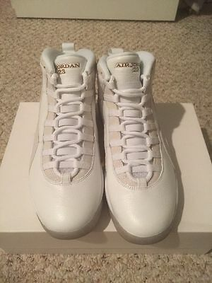 Men's brand new size 11.5 jordan retro ovo 10 with receipt