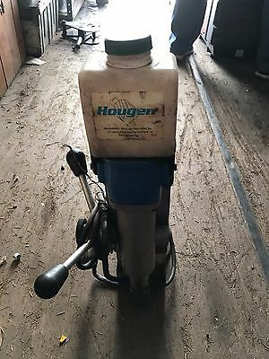 Hougen HMD505  2 speed quill fed drill Press
