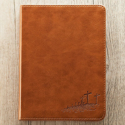 John 3:16 Saddle Tan LuxLeather Journal. FREE DELIVERY