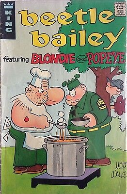 Comics 1973 - Beetle Bailey featuring Blondie and Popeye King Comics 1973 Rare!