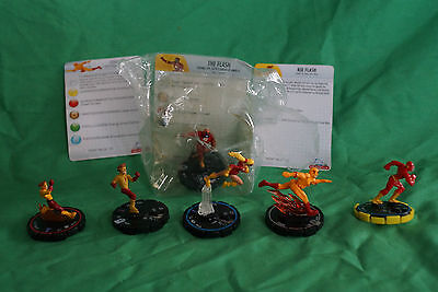 The Flash heroclix lot of 6 clix, including Starro Flash and Zoom!!!