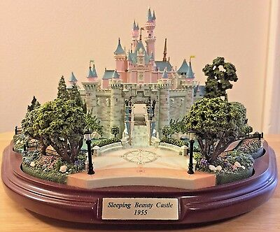 Disneyland Sleeping Beauty Castle DL001 Miniature Rare 1st Edition by OLSZEWSKI