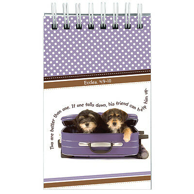 Two Are Better Than One Wirebound Notepad Eccles 4:9-10. FREE DELIVERY