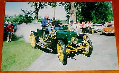 Photo Rare Stanley Steamer In Operation In Chambly Quebec 2004 - Steam Car