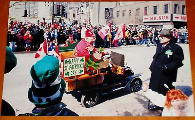 Photo Shriners Mini Ford Model T Truck In Montreal St Patricks Day Parade 2003