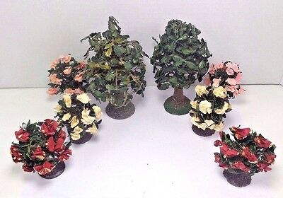 Miniature Oak Trees & Rhododendrons Forma Vitrum Lot
