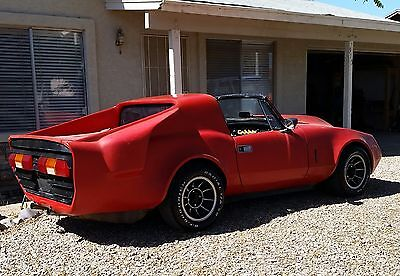 1967 Triumph Spitfire WideBody Targa 327c.i. V8 4Speed Trans/Axle IRS 70s Custom hidden for 25+ years One of a Kind Fiberglass Wide Body V8 Spitfire