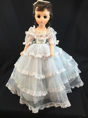 Madame Alexander Elise Doll Complete 1972 Blue Formal Shoes And Pearls
