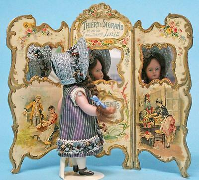 Jean Nordquist's French Repro 3 Panel Screen Kit for dollhouse and small dolls