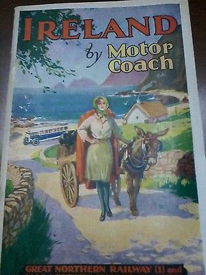 Ireland By Motorcoach 1933 Travel Booklet