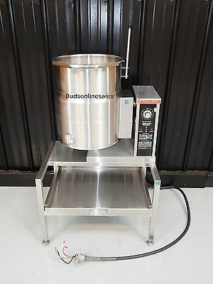Market Forge 40 Qt 10 Gallon Tilt Kettle Electric Gal 30 60 80