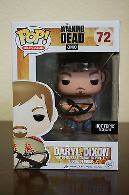 Funko Pop The Walking Dead Daryl Dixon Poncho Hot Topic Exclusive. #72