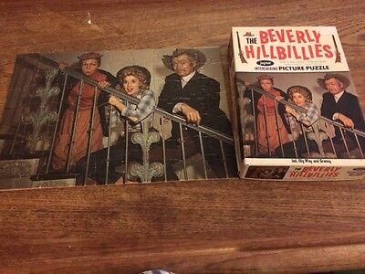 The Beverly Hillbillies puzzle 10x14, made by Jaymar
