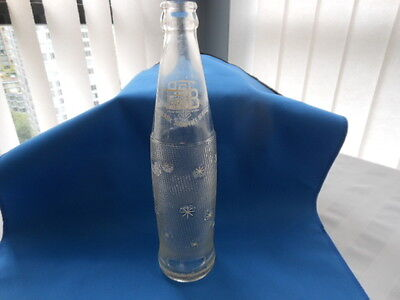 Vintage Embossed TAB Soda Bottle 10 fl oz
