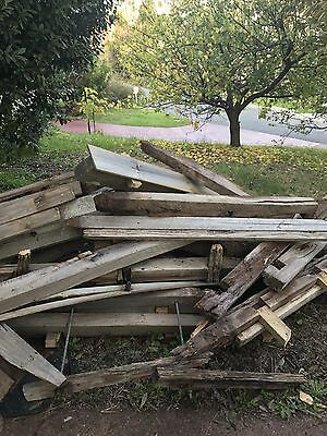 Firewood- 30 Red gum Fence Posts