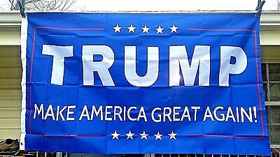 TRUMP 'Make America Great Again'  3x5 Flags Political Banners