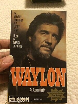 Waylon : An Autobiography by Waylon Jennings (2001, Cassette, Abridged)