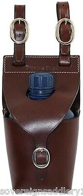 Toowoomba Saddlery Tanami Tack Leather Water Bottle Carrier Single