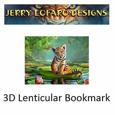 Tiger Lily 3D Bookmark - Book Mark by Impact Designs (47086-3DB)