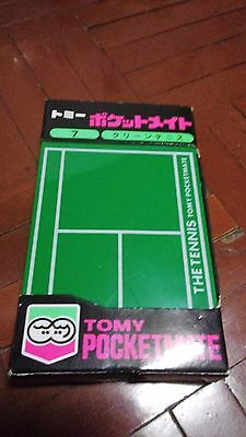 Tomy the tennis 1978 pocketmate game