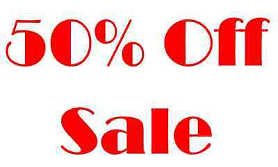 650 Sale Discount 50% Off Price Label Stickers Retail Shop Point Of Sale