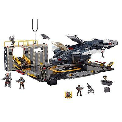 NEW Mega Bloks HALO NMPD Pelican Air Base 1792pc Building Set 6TCIzr1 38761