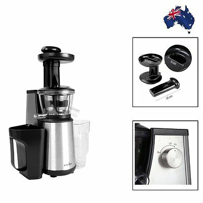 Cold Press Slow Juicer Fruit vegetable Stainless Steel ...