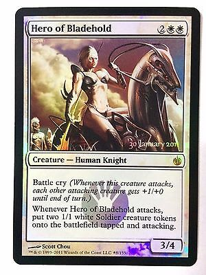 Hero of Bladehold Foil Release Promo Magic the Gathering MTG unplayed/NM