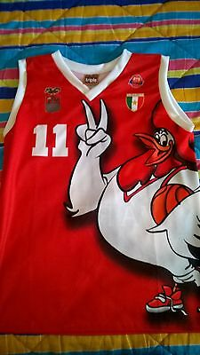 canotta fiba basketball jersey varese roosters replica Meneghin M