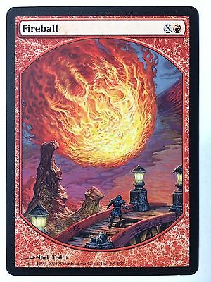 Fireball Textless Promo Magic the Gathering MTG NM